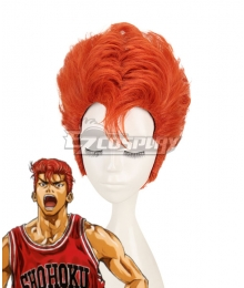 Slam Dunk Hanamichi Sakuragi Orange Cosplay Wig