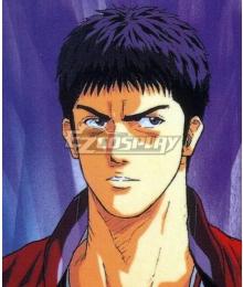 Slam Dunk Mitsui Hisashi Black Cosplay Wig