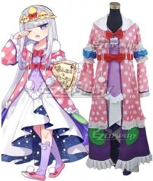 Sleepy Princess In The Demon Castle Maojo de Oyasumi Princess Syalis Cosplay Costume