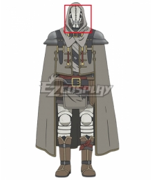 Somali and the Forest Spirit Golem Head Wear Cosplay Accessory Prop