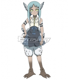Somali and the Forest Spirit Uzoi Cosplay Costume