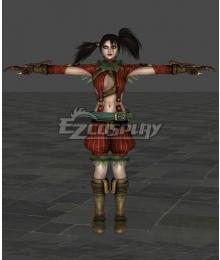 Soul Calibur 4 Tira Cosplay Costume