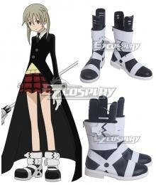 Soul Eater Maka Albarn Black White Cosplay Shoes