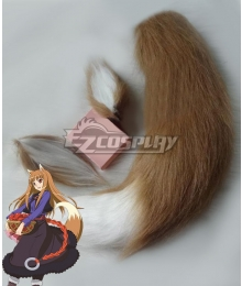 Spice and Wolf Holo Cosplay Ears and Tail Cosplay Accessory Prop