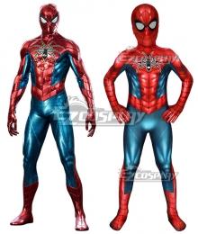 Kids PS4 Spider-Man Spider man armour-MK IV Zentai Jumpsuit Cosplay Costume