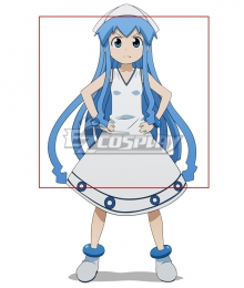 Squid Girl Shinryaku! Ika Musume Blue Cosplay Wig