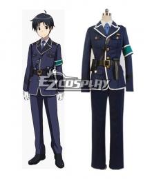 RAIL WARS! Naoto Takayama Uniform Cosplay Costume