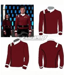 Star Trek Discovery and Star Trek The Wrath of Khan Uniforms Cosplay Costume