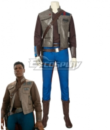 Star Wars 9 The Rise of Skywalker Finn Cosplay Costume