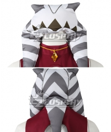 Star Wars: Ahsoka Ahsoka Tano Cosplay Costume Only Hat