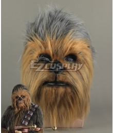 Star Wars Chewbacca Mask Halloween Party Cosplay Accesssory Prop