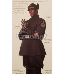 Star Wars Episode 9 Admiral Cosplay Costume