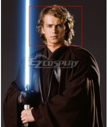 Star Wars Episode III Revenge Of The Sith Anakin Skywalker Golden Cosplay Wig