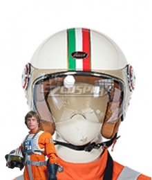 Star Wars Luke Skywalker X-Wing Pilot Fighter Helmet Cosplay Accessory Prop