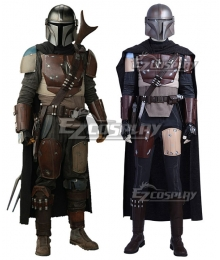 Star Wars Mandalorian Din Djarin Uniform Cosplay Costume