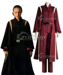 Star Wars Padme Naberrie Amidala Battle suit Cosplay Costume