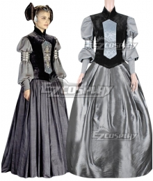 Star Wars Padme Naberrie Amidala Dress Cosplay Costume