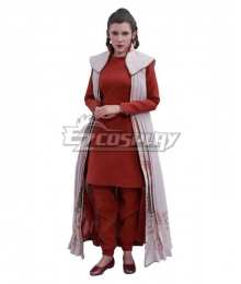 Star Wars Princess Leia Bespin Cosplay Costume - Only Top and Pants