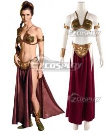 Star Wars Princess Leia Slave Girl Cosplay Costume