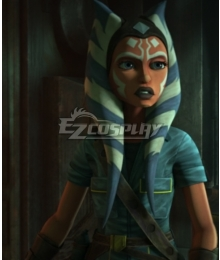 Star Wars: The Clone Wars Season 7 Ahsoka Tano Cosplay Costume