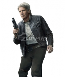 Star Wars The Force Awakens Han Solo Cosplay Costume