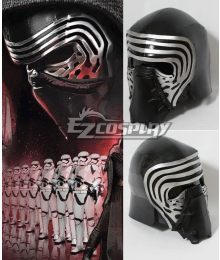Star Wars VII The Force Awakens Kylo Ren Helmet Cosplay Prop