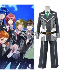 Starry Sky Seigatsu Academy School Male Winter Uniform 2nd Cosplay Costume