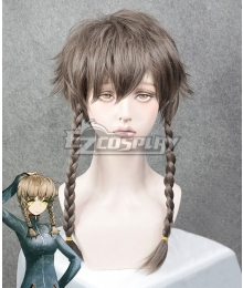 Steins;Gate Steins Gate Suzuha Amane Brown Cosplay Wig