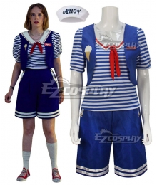 Stranger Things Season 3 Scoops Ahoy Robin Cosplay Costume