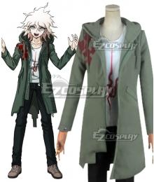Super Danganronpa2 Komaeda Nagito Cosplay Costume - Only Coat