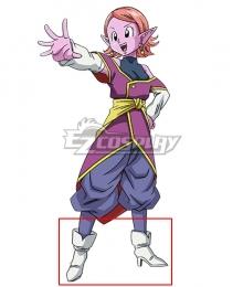 Super Dragon Ball Heroes Chronoa White Cosplay Shoes