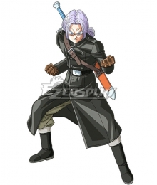 Super Dragon Ball Heroes Future Trunks Xeno Cosplay Costume