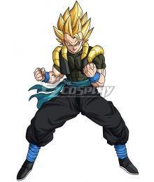 Super Dragon Ball Heroes Gogeta Xeno Cosplay Costume