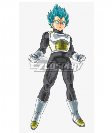 Dragon Ball Super Vegeta SSGSS Cosplay Costume