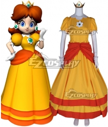 Super Mario Land Princess Daisy Cosplay Costume