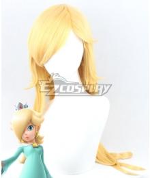 Super Mario Rosalina Golden Cosplay Wig