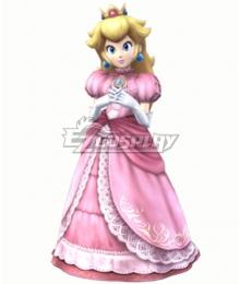 Super smash Bros Brawl Princess Peach Cosplay Costume