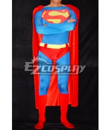 DC Superman Classic Red Cosplay Costume