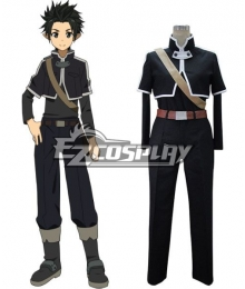 Sword Art Online ALfheim Online Kirito Basic Cosplay Costume