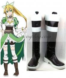 Sword Art Online ALfheim Online Leafa Lyfa  Kirigaya Suguha Cosplay Boots