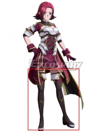 Sword Art Online Alicization Lycoris Medina Black Shoes Cosplay Boots