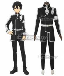 Sword Art Online Alicization SAO Anime Kirito Battle Suit Cosplay Costume