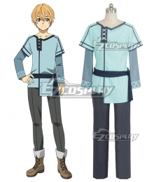 Sword Art Online Alicization SAO Eugeo Cosplay Costume