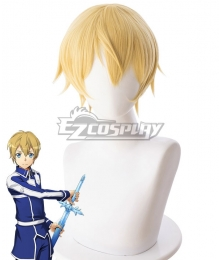 Sword Art Online Alicization SAO Eugeo·Synthesis·Thirty-two Yellow Cosplay Wig - B314F