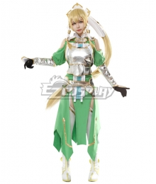 Sword Art Online Alicization SAO Kirigaya Suguha Leafa Cosplay Costume