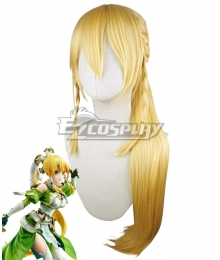 Sword Art Online Alicization SAO Kirigaya Suguha Leafa Golden Cosplay Wig