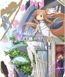 Sword Art Online Alicization SAO Yuuki Yuki Asuna Cosplay Costume