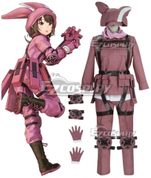Sword Art Online Alternative: Gun Gale Online Llenn Kohiruimaki Karen Cosplay Costume