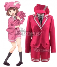Sword Art Online Alternative: Gun Gale Online Llenn Kohiruimaki Karen Short Cosplay Costume
