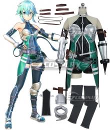 Sword Art Online: Fatal Bullet Asada Shino Sinon Cosplay Costume